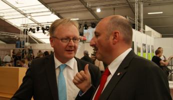 Im Gespräch mit dem Pressesprecher des Bistums Würzburg, Herrn Schweßinger