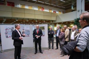 Begrüßung durch den Hausherrn Herrn Wagenländer, Vorstandsmitglied der Sparkasse Mainfranken