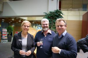 Gruppenbild mit Dame ... und den SPD-Vorderen aus Rottendorf