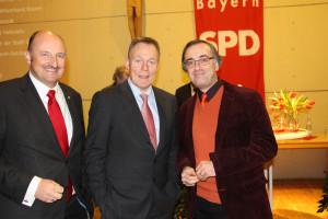 ... mit dem Würzburger SPD-Chef Muchtar Al Ghusain, der unter Kultusminister Thomas Oppermann in Niedersachen arbeitete