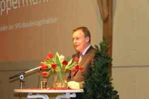 Hauptredner Thomas Oppermann, Vorsitzender der SPD-Bundestagsfraktion