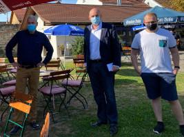 Zellingen ist gerüstet für den ersten BBP-Talk in Corona-Zeiten