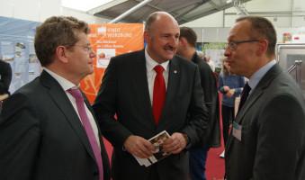 Mit Georg Rosenthal bei europe direct - dem Infobüro der Europäischen Union