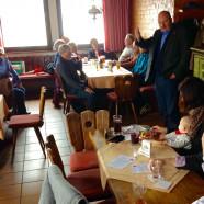 """In Frammersbach diskutierte ich bei """"Brotzeit und Bier"""" über zahlreiche politische Themen"""