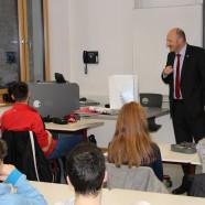 Mit der Klasse 10 c der Staatlichen Realschule Gemünden diskutierte ich letzthin über aktuelle Themen