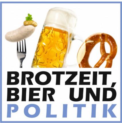 Brotzeit, Bier und Politik