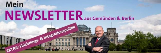Banner Flüchtlingspolitik-Newsletter