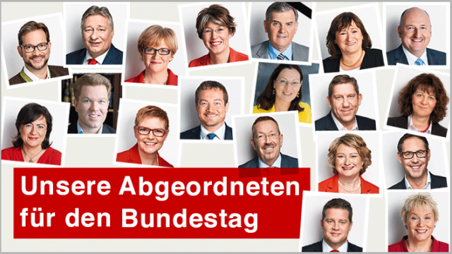 Die neue SPD-Bundestagsfraktion