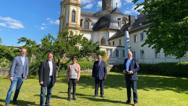 Würzburger Käppele mit Spd-Politiker