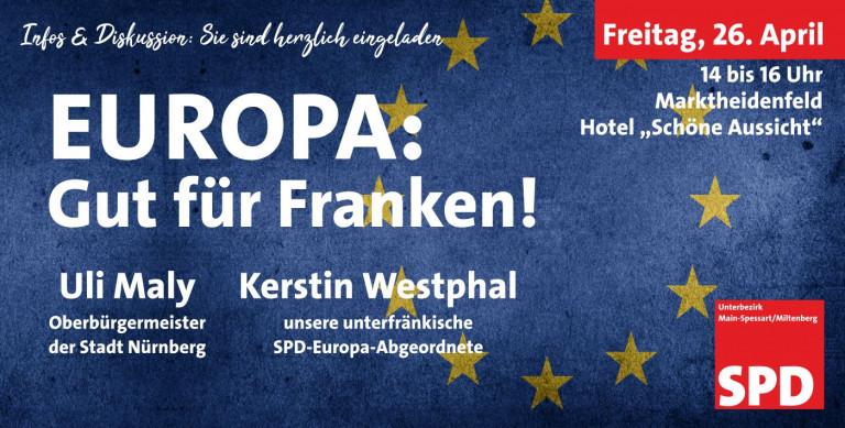 Europa: Gut für Franken!