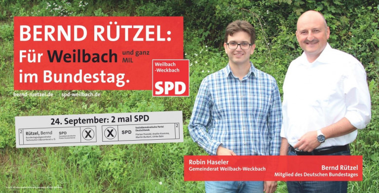 Weilbach-Banner