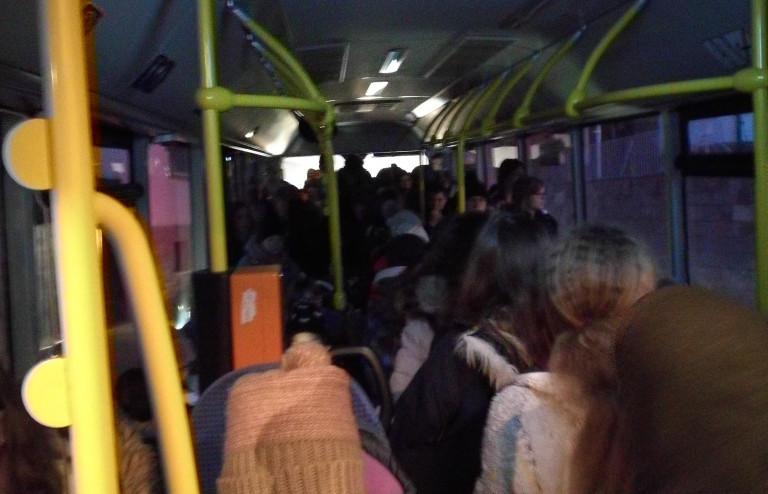 Volle Buslinie