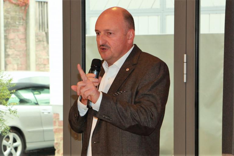 Unterbezirksvorsitzender Bernd Rützel